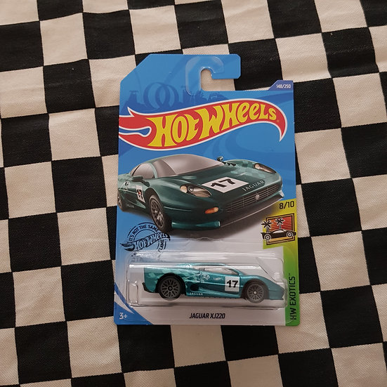 Hot Wheels 2020 Exotics Jaguar XJ220 Teal