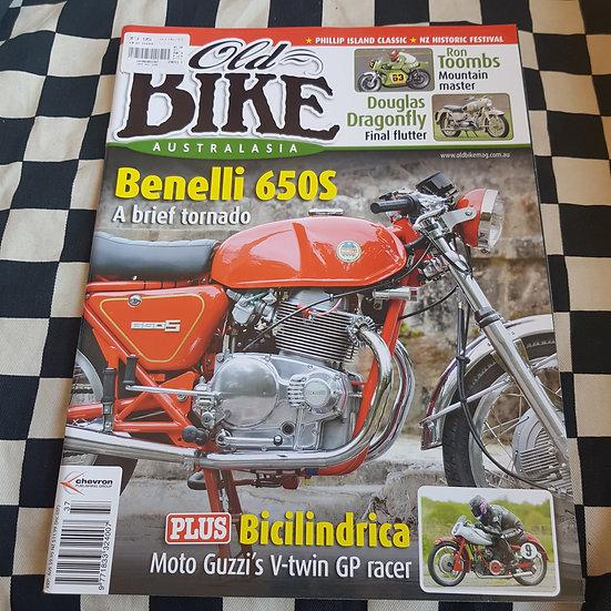 Old Bike Magazine #37 Vintage/ Classic Motorcycles