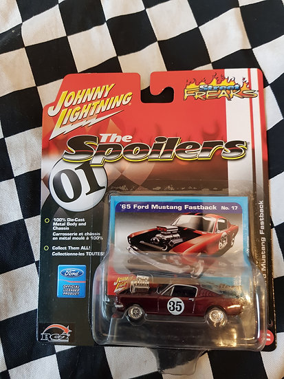 Johnny Lightning SPOILERS 65 Ford Mustang Fastback