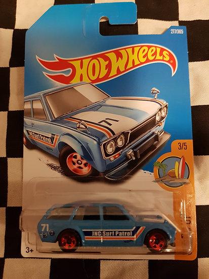 Hotwheels (2015) 71 Datsun Bluebird 510 wagon