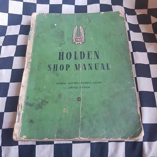 Genuine Holden FX 48/215 Workshop Manual (no Back Cover)