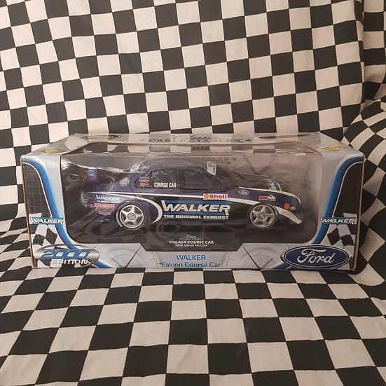 Classic Carlectables 1:18 Walker Course Car 2000 Ford Au Falcon V8 Supercars