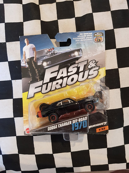 Fast & Furious 1:50 1970 Dodge Charger Off Road