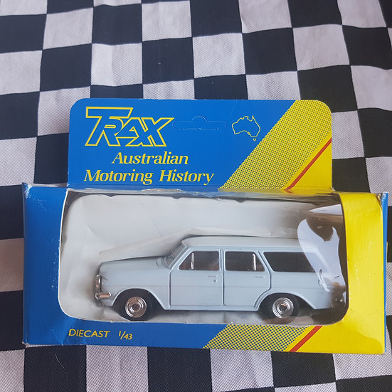 Trax 1:43 EH Holden Station Wagon Light Blue Grey /White
