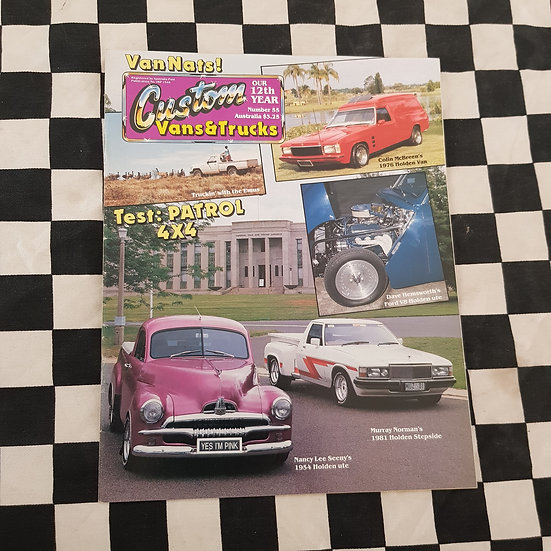 Custom Vans & Trucks Magazine #55
