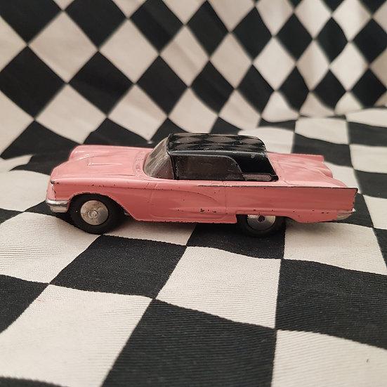 Vintage Corgi Ford Thunderbird Diecast Friction Pink