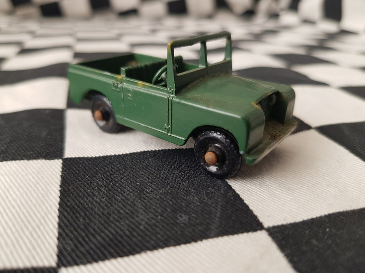 Lesney Land Rover Series 2 Army Jeep
