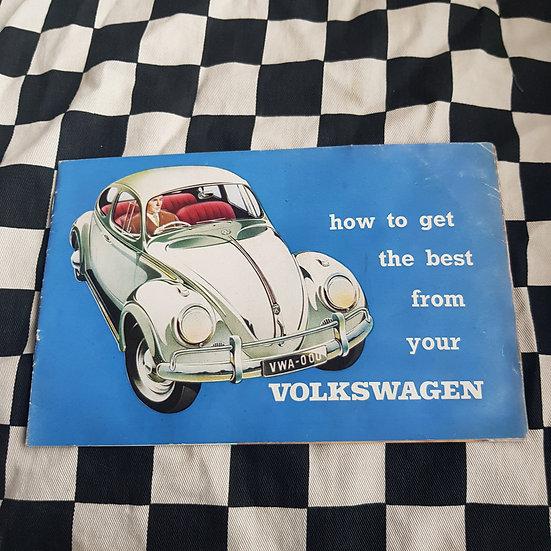 How to Get The Bet From Your Volkswagen Booklet/ Brochure