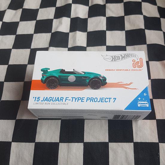 Hot Wheels Boxed ID 15 Jaguar F Type Project 7