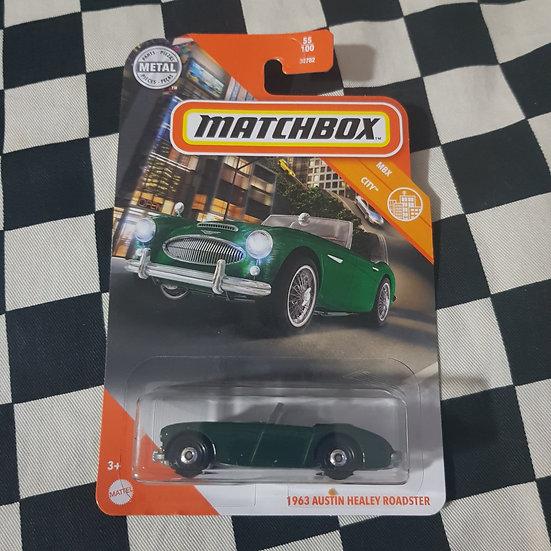 Matchbox  1963 Austin Healy Roadster British racing Green