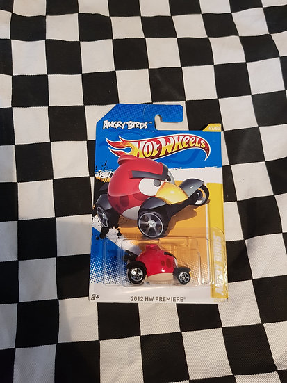 Hot Wheels 2012 premiere Angry Birds RED BIRD