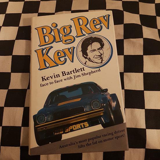 Big Rev Kev Hardcover Book Kevin Bartlett with Jim Shepherd 9 Camaro