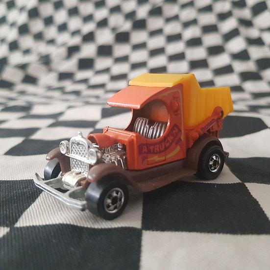 Vintage Loose Hot Wheels Blackwall A' Truckin C Cab Ford