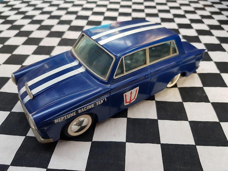 Rare! LARGE 1960's Neptune Racing MK1 Cortina Friction Plastic Hong Kong Model