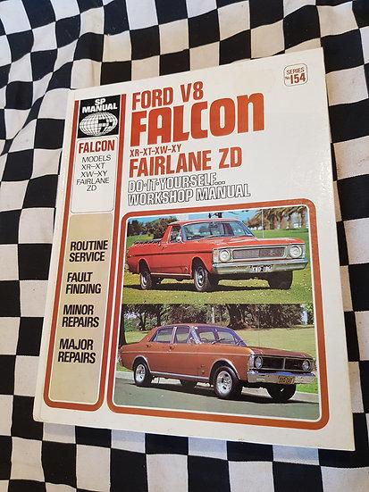 Ford Falcon XR XT XW XY Fairlane ZD V8 workshop manual