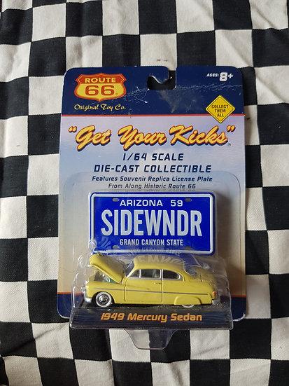 Route 66  1949 Mercury Sedan Lead Sled Kustom