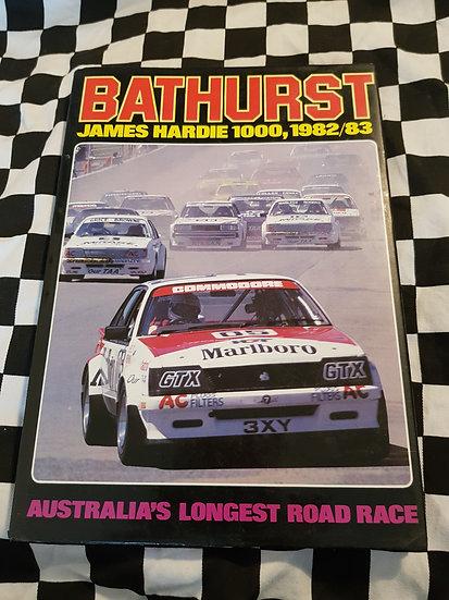 BATHURST James Hardie 1000 1982/83 Book
