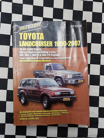 Toyota Land Cruiser 1990-2007 70 80 100 Series Diesel & Turbo Workshop Manual