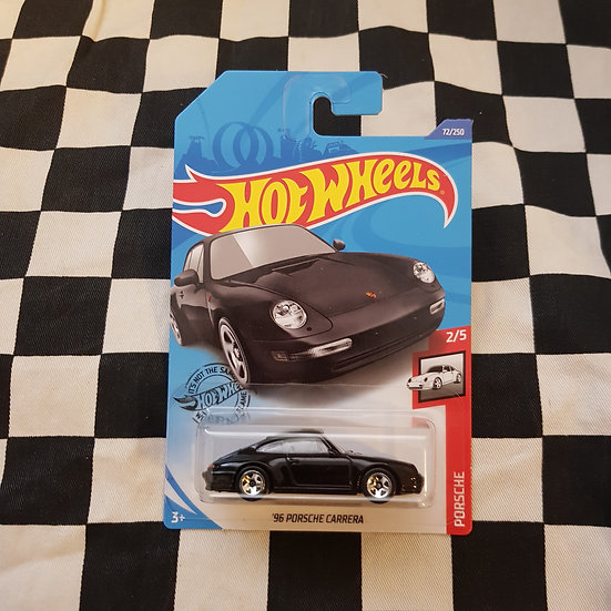 Hot Wheels 2020 Porsche Series 96 Porsche Carrera Black