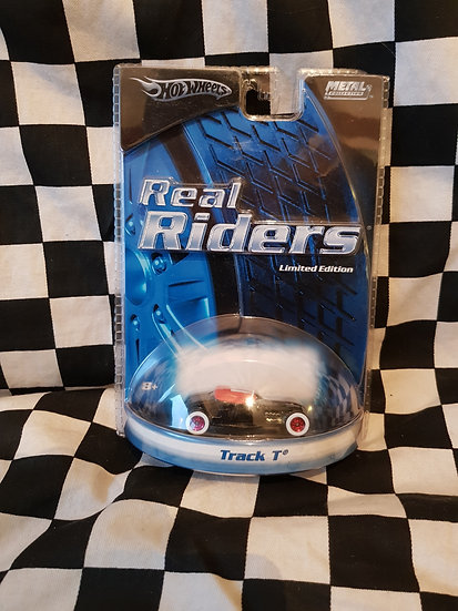 Hot Wheels Real Riders Track T Ford Hotrod Limited Edition