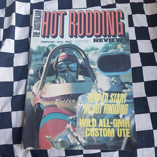 Australian Hot Rodding Review Feb 1972