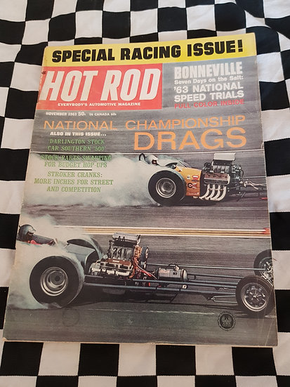 HOT ROD magazine (USA) November 1963