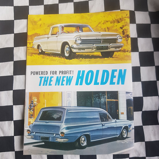 Genuine Holden EH Ute Van Commercial Vehicle Sales Brochure