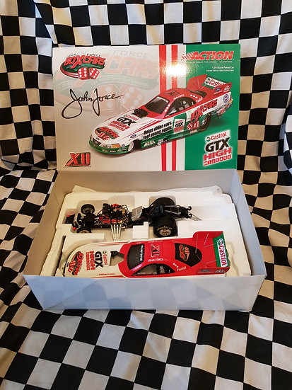 Action Collectables John Force 2003 Mustang Funny Car