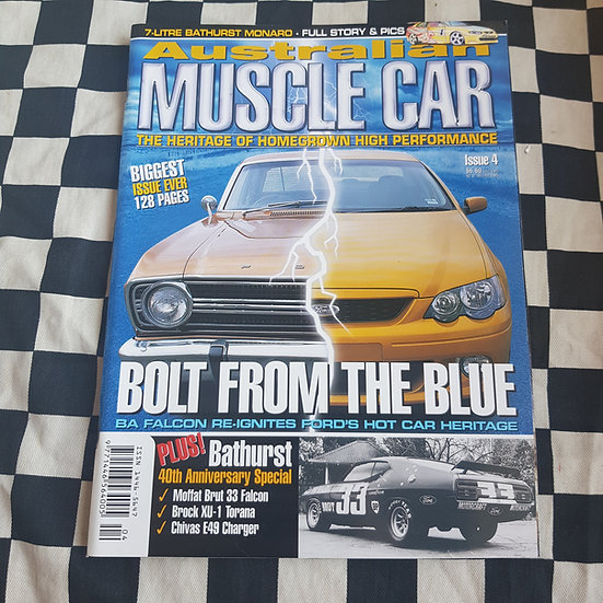 Australian Muscle Car Magazine Issue 4