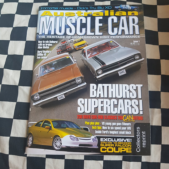Australian Muscle Car First Issue COLLECTORS REPRINT