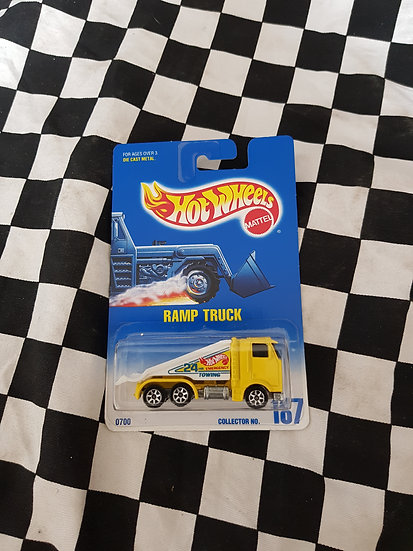 Hot Wheels 1991 #187 Ramp Truck