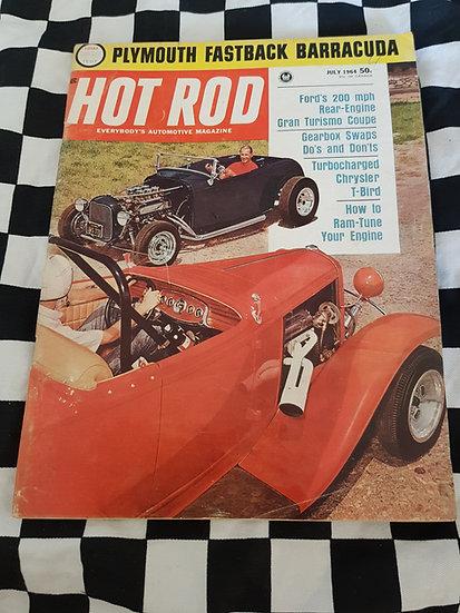 HOT ROD magazine (USA) July 1964