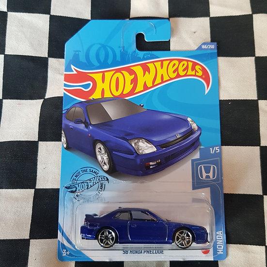 Hot Wheels 2020 Honda Series 98 Honda Prelude Blue