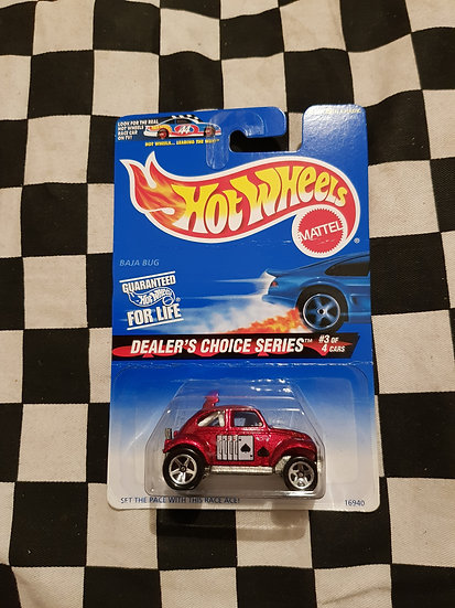 Hot Wheels 1996 Dealers Choice Baja Bug