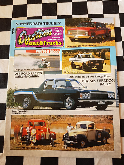 CUSTOM VANS & TRUCKS magazine #61
