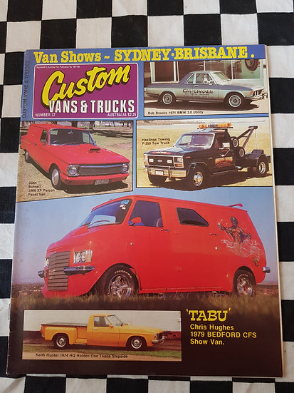 CUSTOM VANS & TRUCKS magazine #37