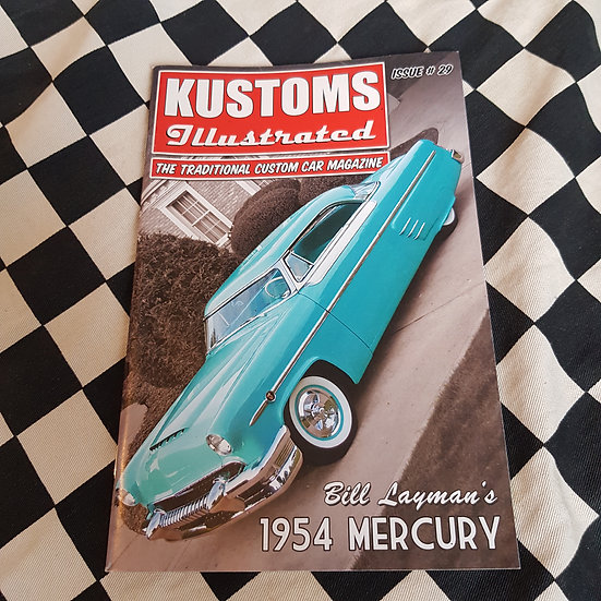 Kustoms Illustrated #29 Traditional Custom Car Magazine