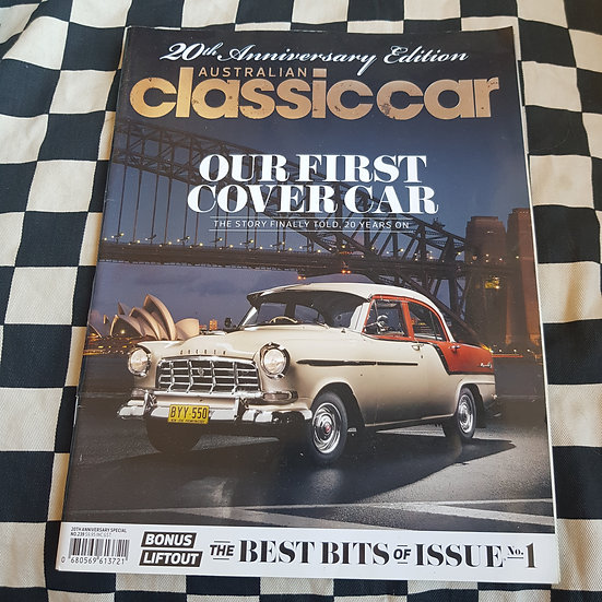 Australian Classic Car Magazine #239 20th Anniversary issue FC