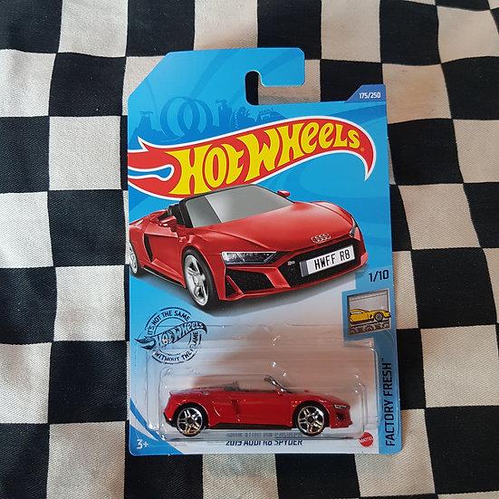 Hot Wheels 2020 Factory Fresh 2019 Audi R8 Spyder Red