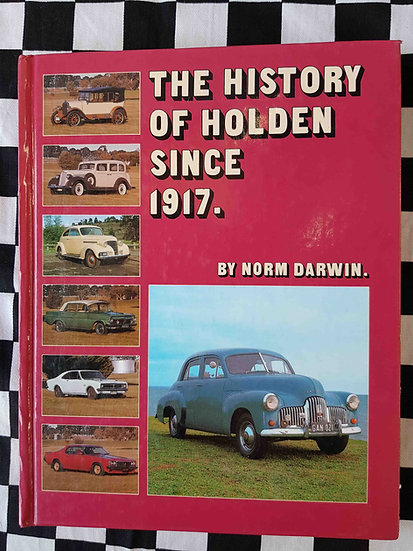 The History of Holden since 1917 (hardcover Signed)