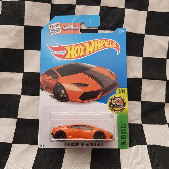 Hot Wheels 2015 Exotics Lamborghini Huracan LP610-4 Orange