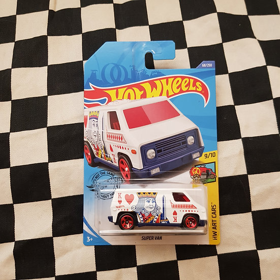 Hot Wheels 2020 Art cars Super Van