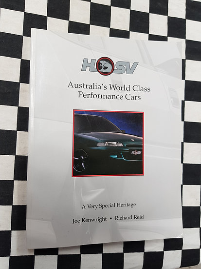 HSV A Very Special Heritage 1993 BOOK