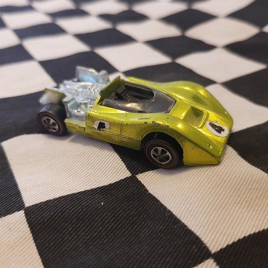 Hot Wheels Redline Mclaren M6A Lime gold AS IS