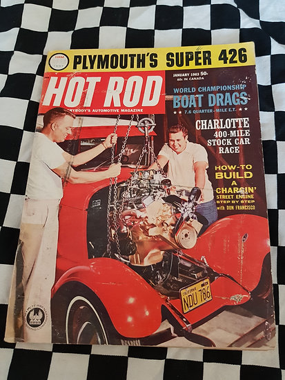 HOT ROD magazine (USA) January 1963