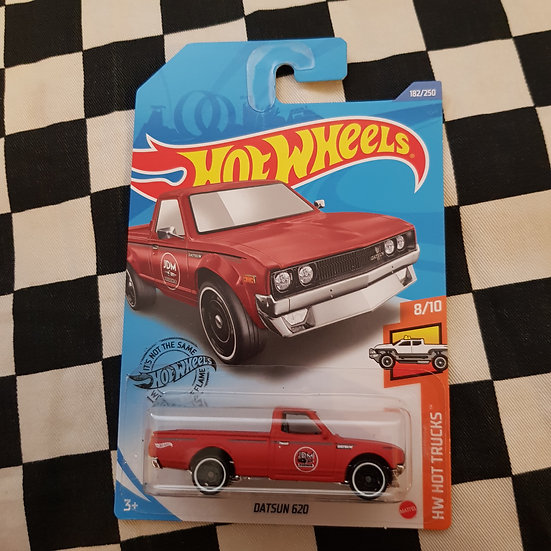 Hot Wheels 2020 Hot Trucks Datsun 620 Red Oxide