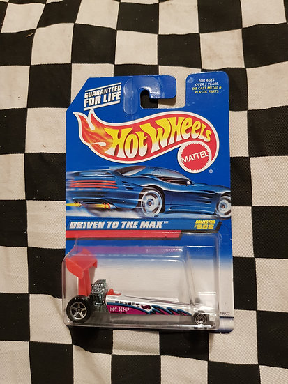 Hot Wheels Dragster Driven to the Max 1997