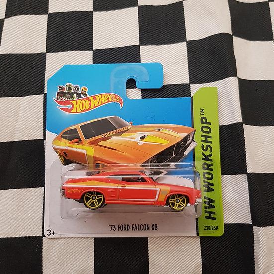 Hot Wheels XB Ford Falcon Orange Short Card