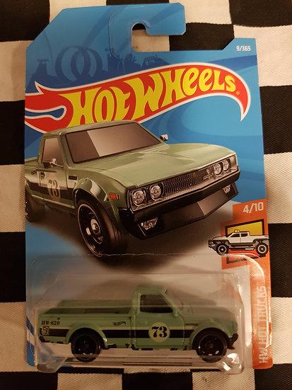 Hotwheels (2017) Datsun 620 Green