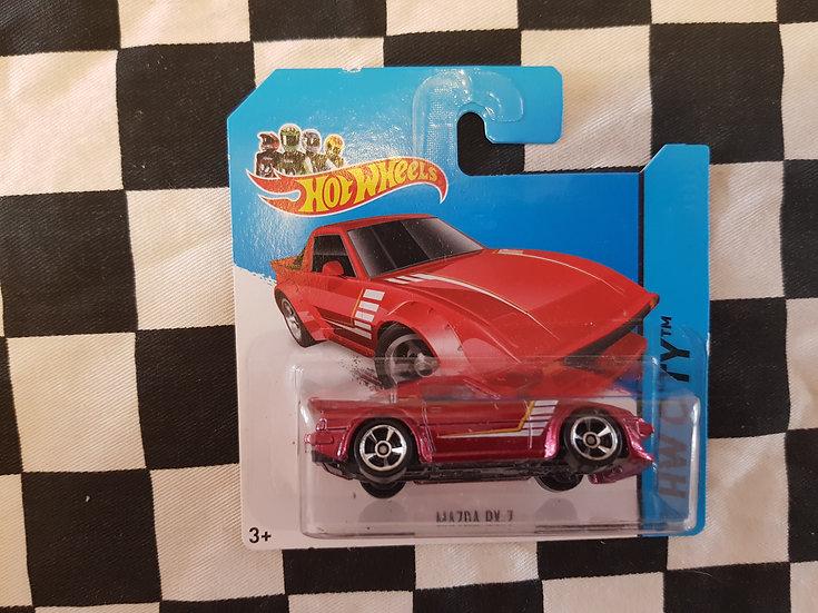Hot Wheels 2014 City Mazda Rx7 RED
